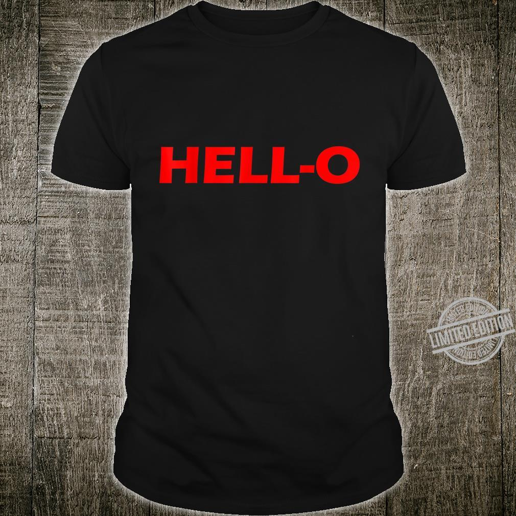 HELLO Design Shirt