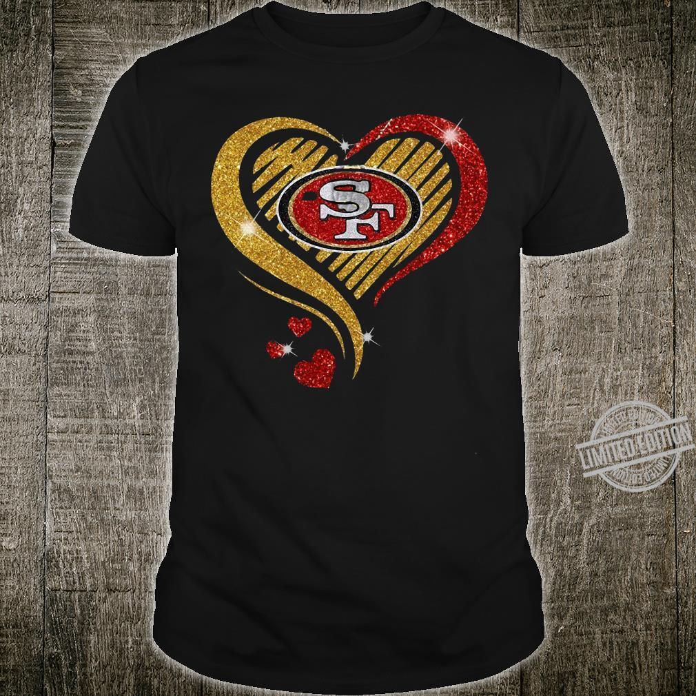 Heart San Francisco 49ers shirt