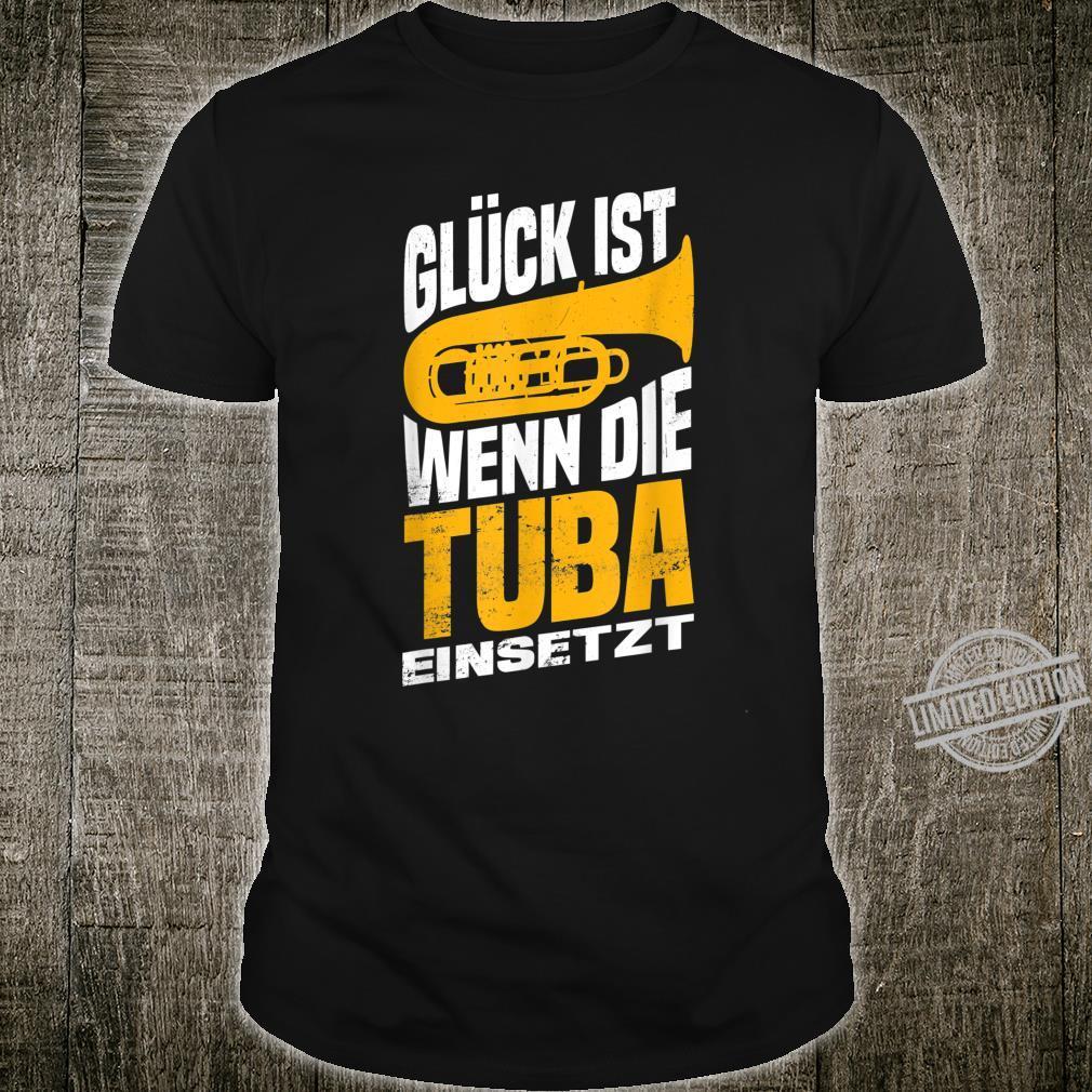 Herren Tuba Tubaspieler Tubist Musik Bass Musiker Instrument Band Shirt