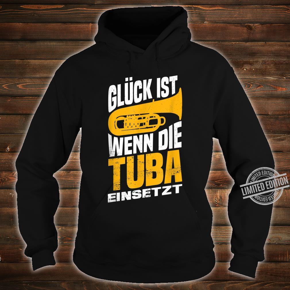 Herren Tuba Tubaspieler Tubist Musik Bass Musiker Instrument Band Shirt hoodie