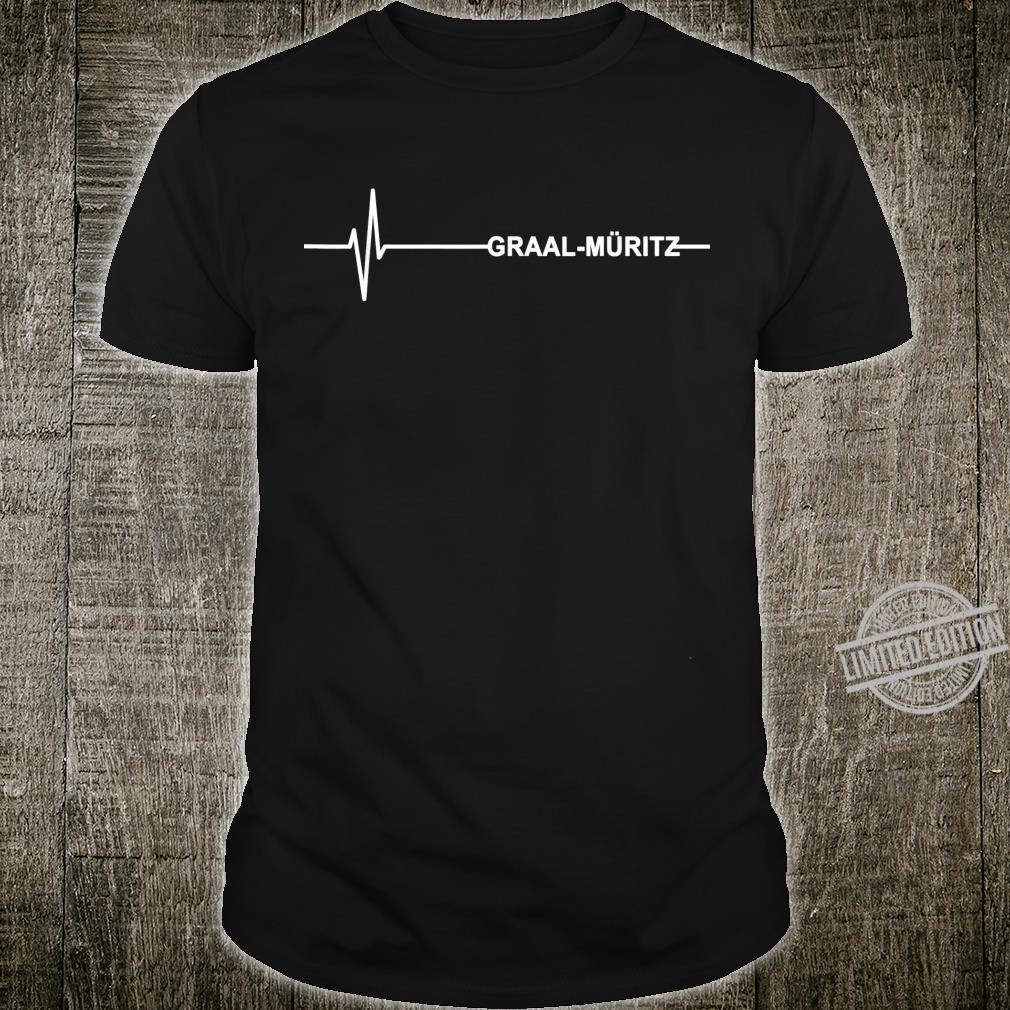 Herzschlag GraalMüritz Für Ostseeheilbad Liebhaber Shirt