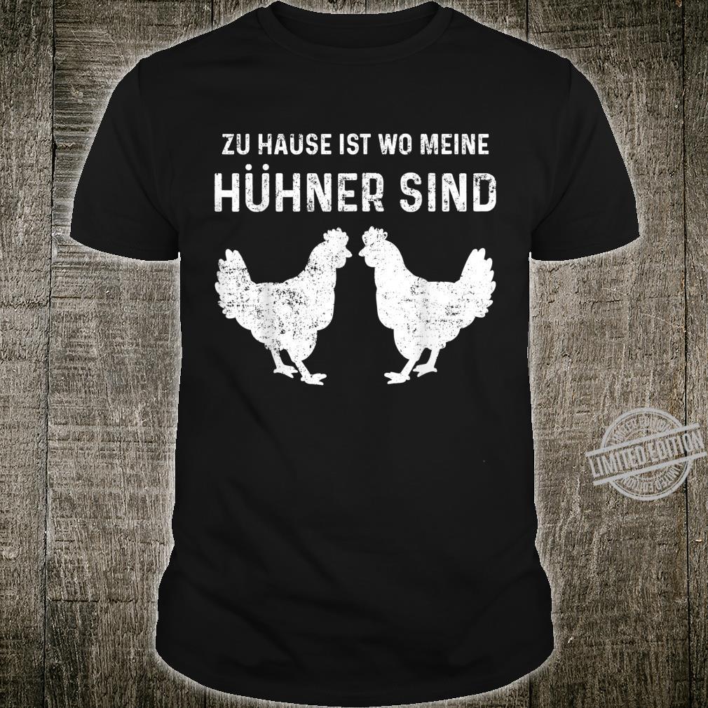 Hühner Hahn Huhn Bauer Bauernhof Hühnerfarm Shirt