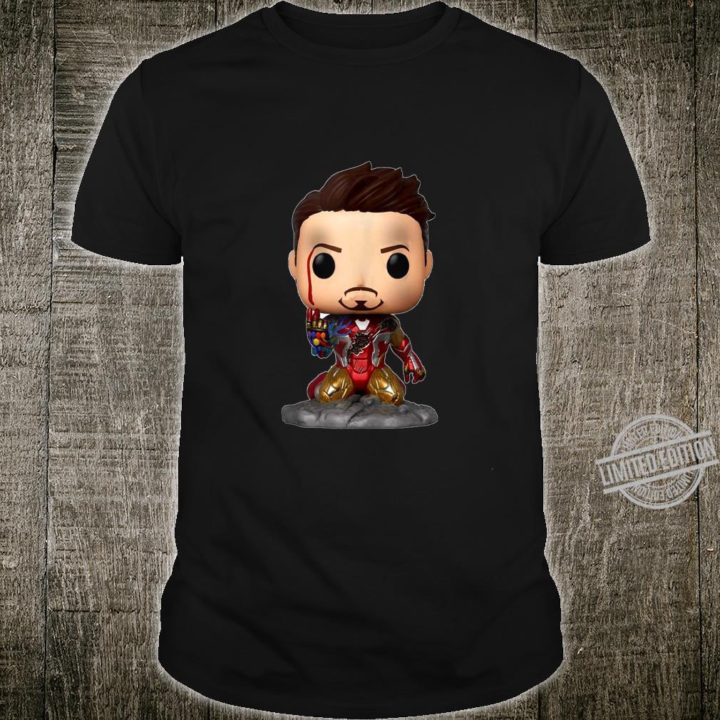 IRON M FUNK O POP AWESOME SUER HERO MOVIE Shirt