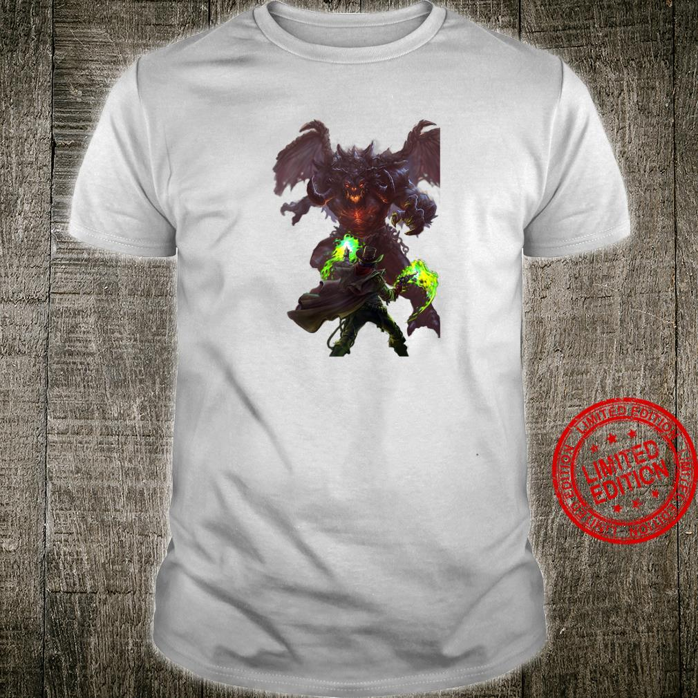Infernal Fire A Weird Western Fantasy Shirt