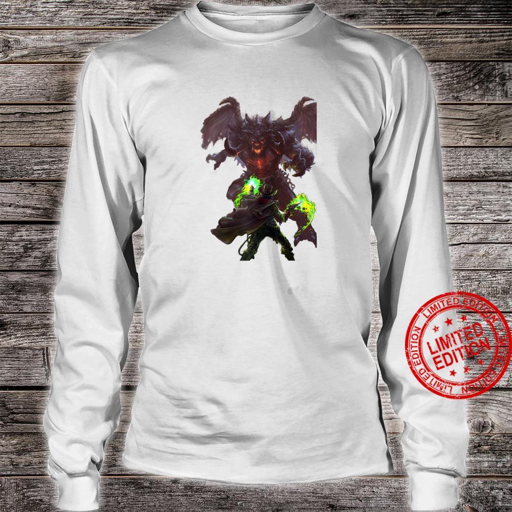Infernal Fire A Weird Western Fantasy Shirt long sleeved