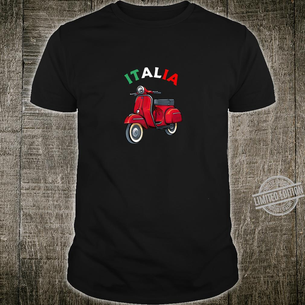 Italian Biker Bike Rider Motorcycle Love Italy Scooter Shirt