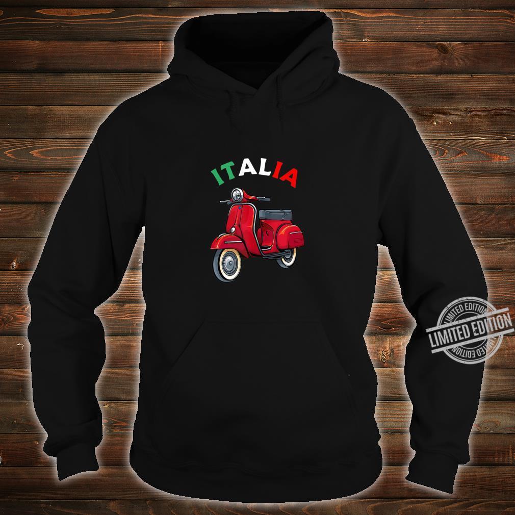 Italian Biker Bike Rider Motorcycle Love Italy Scooter Shirt hoodie