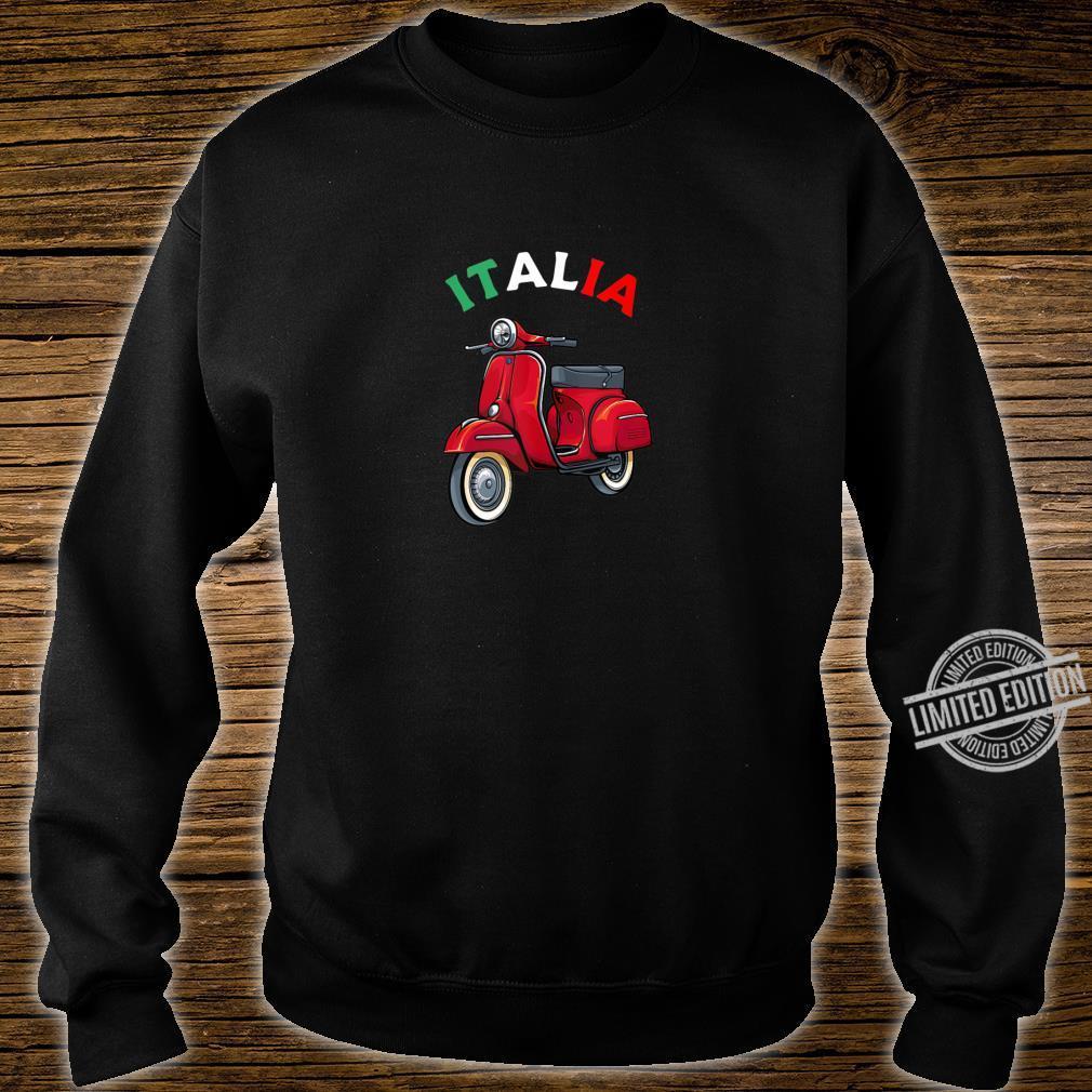 Italian Biker Bike Rider Motorcycle Love Italy Scooter Shirt sweater
