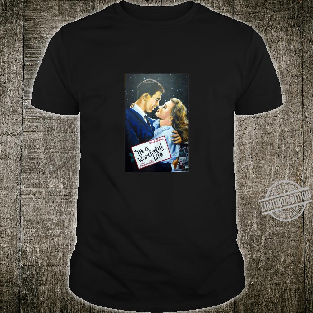 It's a Wonderful Life Movie Poster Public Domain Old Art Shirt