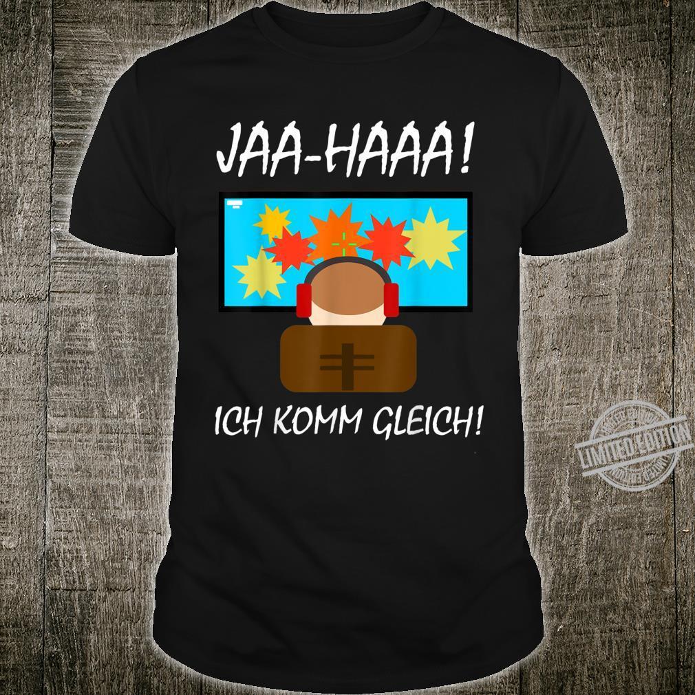 JAHAAA Gamer Zocker Geschenk Geburtstag Shirt