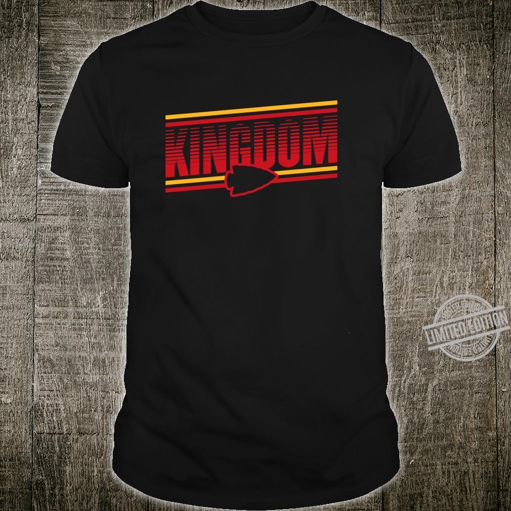 Kansas City KC Football Missouri Arrowhead Retro Chief Shirt