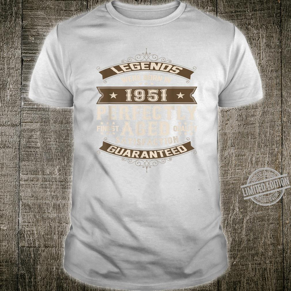 Legends Were Born in 1951 69th Birthday 69 year old Shirt