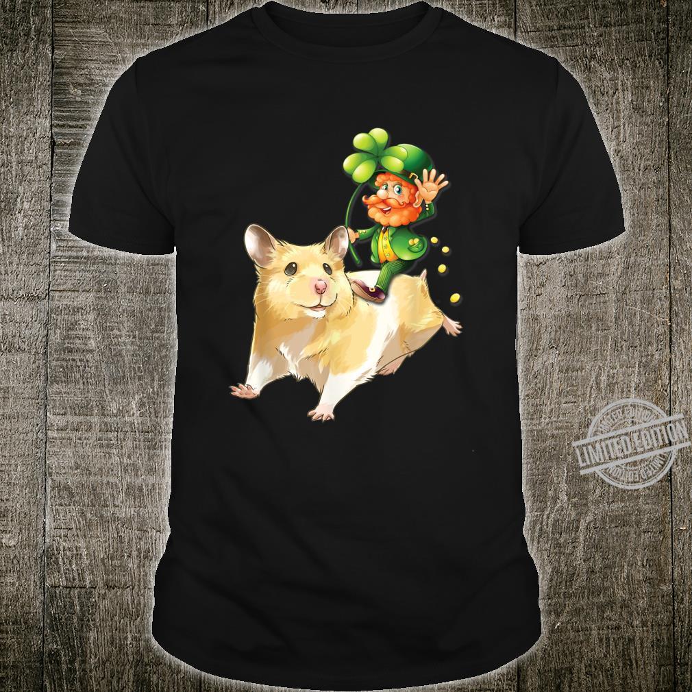 Leprechaun Riding Hamster St Patrick's Day Shirt
