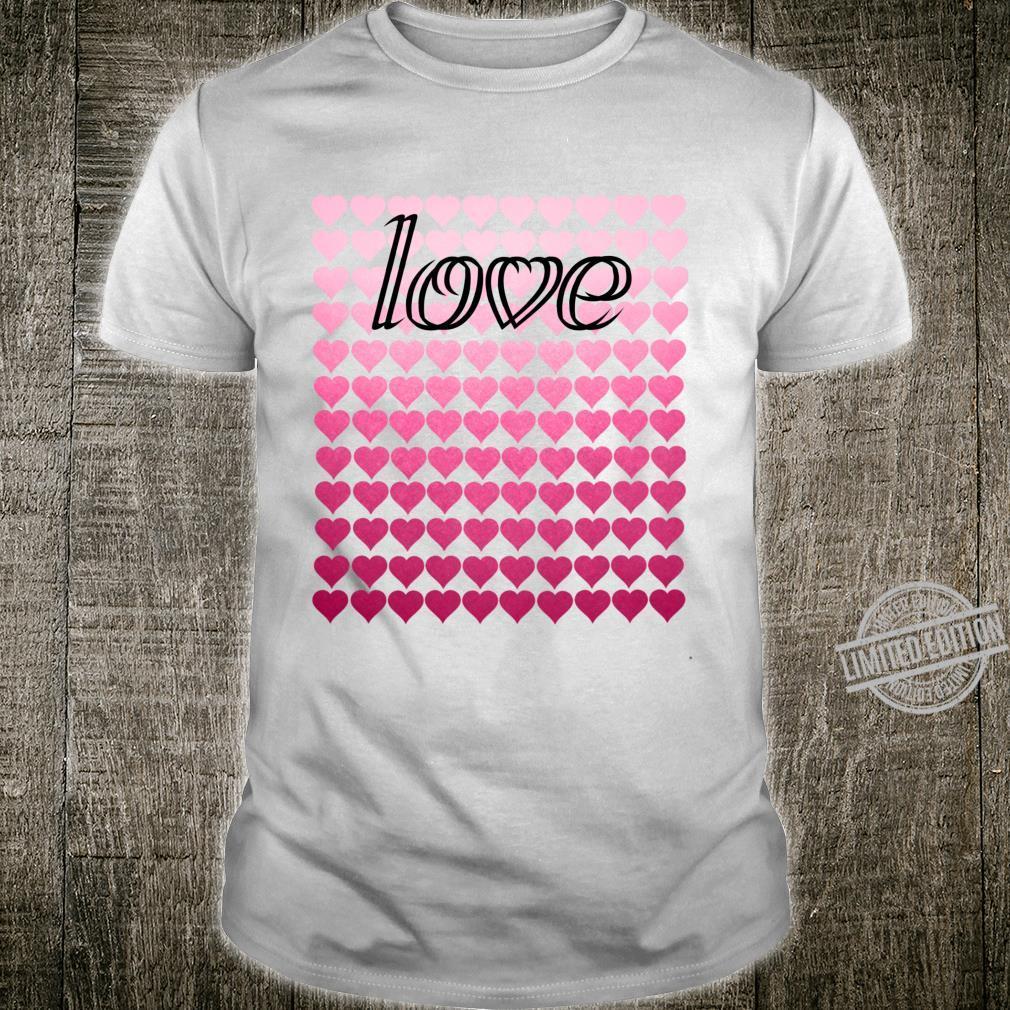 Liebesherzen Valentinstag Langarmshirt Shirt