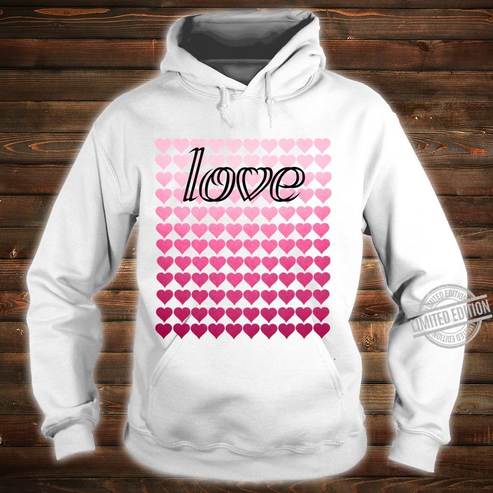 Liebesherzen Valentinstag Langarmshirt Shirt hoodie