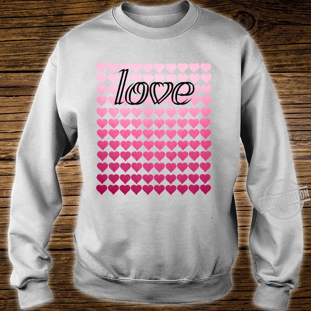 Liebesherzen Valentinstag Langarmshirt Shirt sweater