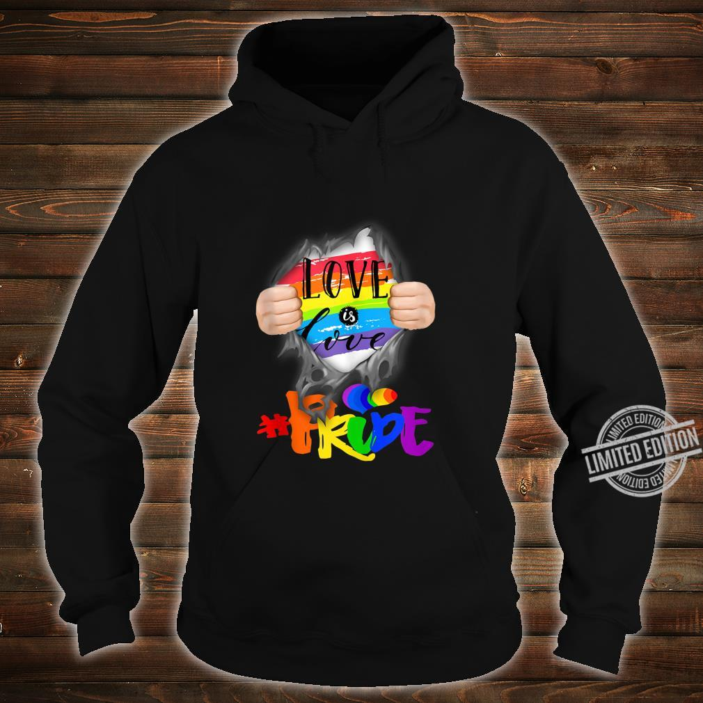 Love Is Love #Pride Super Human Shirt hoodie