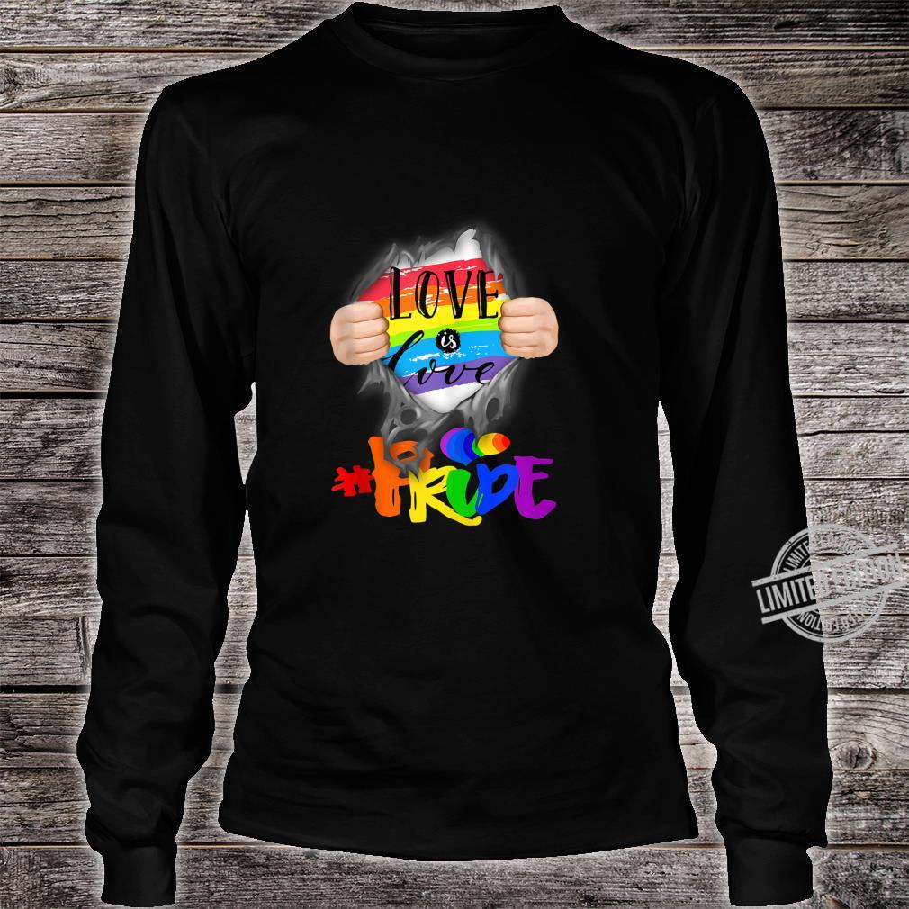 Love Is Love #Pride Super Human Shirt long sleeved
