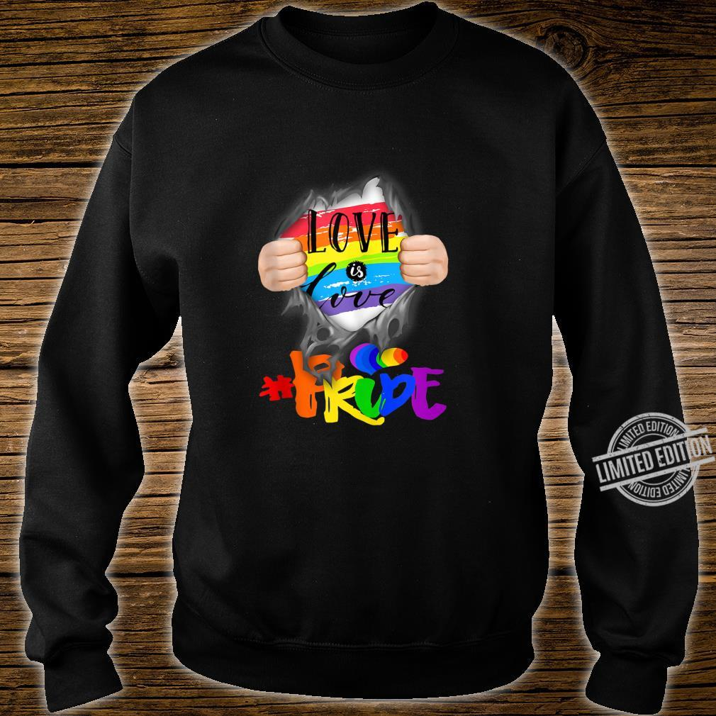 Love Is Love #Pride Super Human Shirt sweater