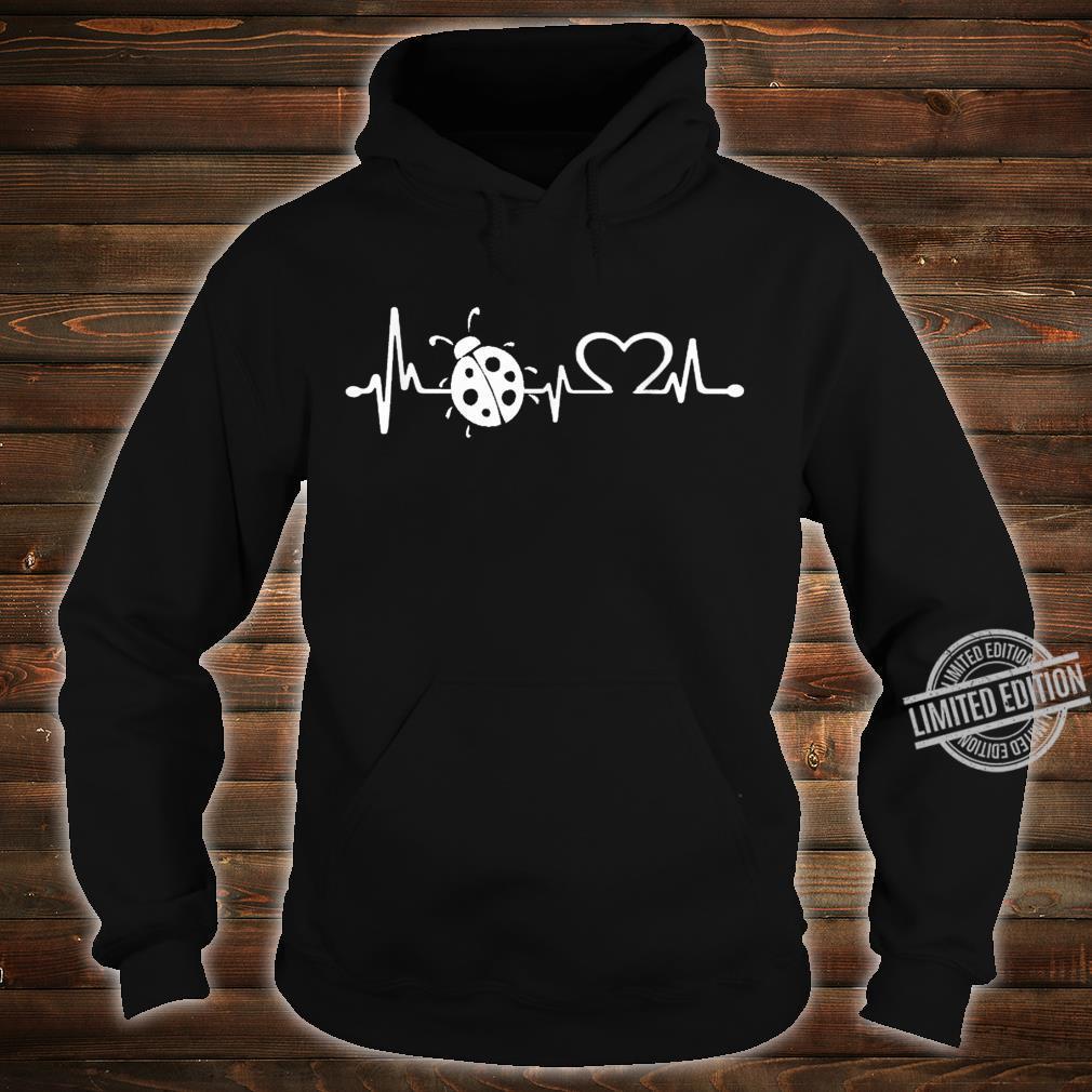 Love ladybugs heartbeat Shirt ladybugs girl Shirt hoodie