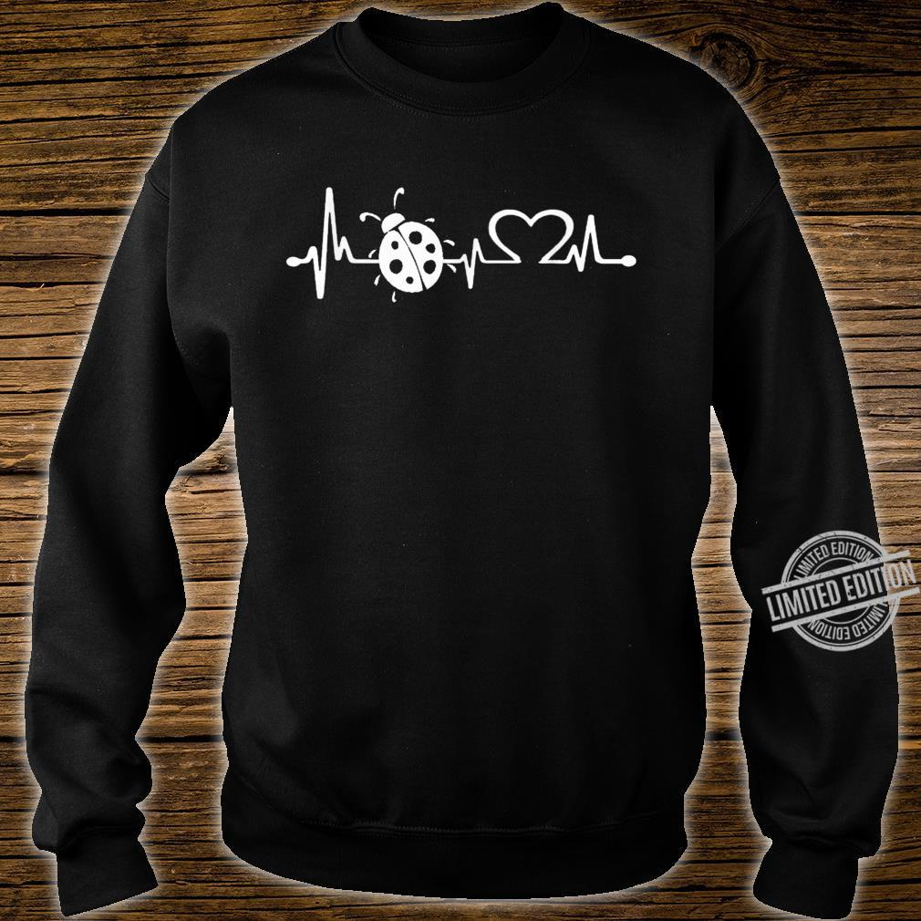 Love ladybugs heartbeat Shirt ladybugs girl Shirt sweater