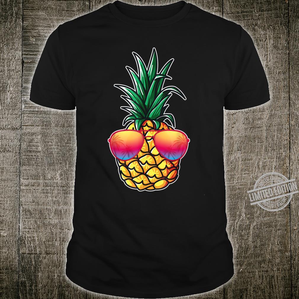 Mit Ananas Damen, Herren Aloha Beaches Kostüm Karneval Shirt