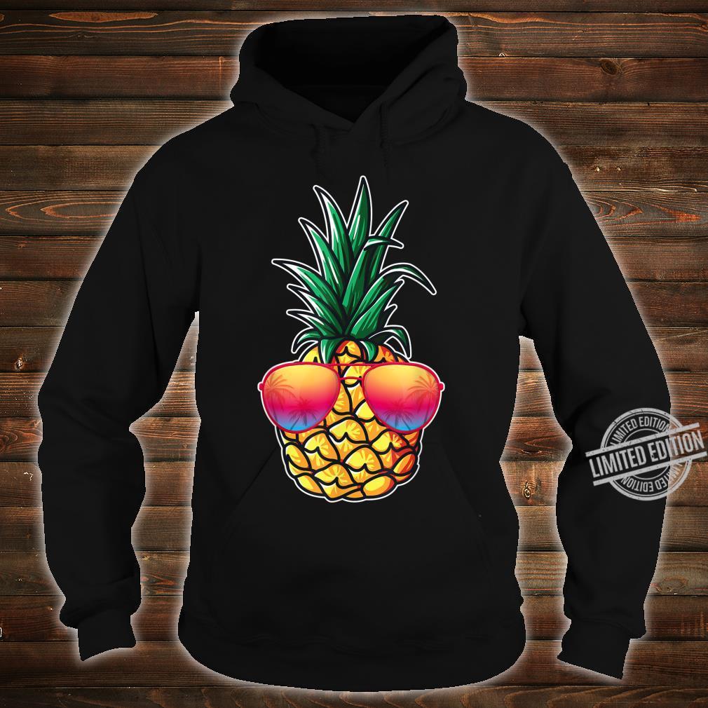 Mit Ananas Damen, Herren Aloha Beaches Kostüm Karneval Shirt hoodie