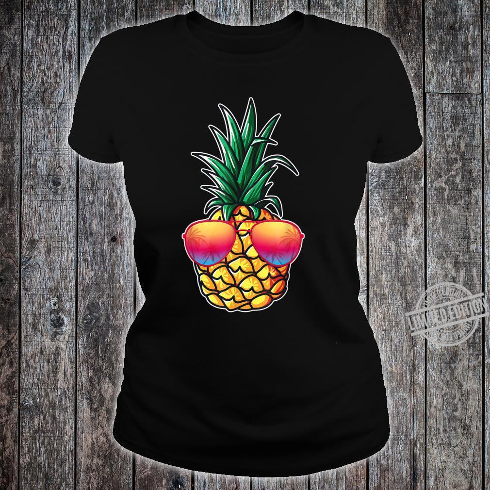 Mit Ananas Damen, Herren Aloha Beaches Kostüm Karneval Shirt ladies tee