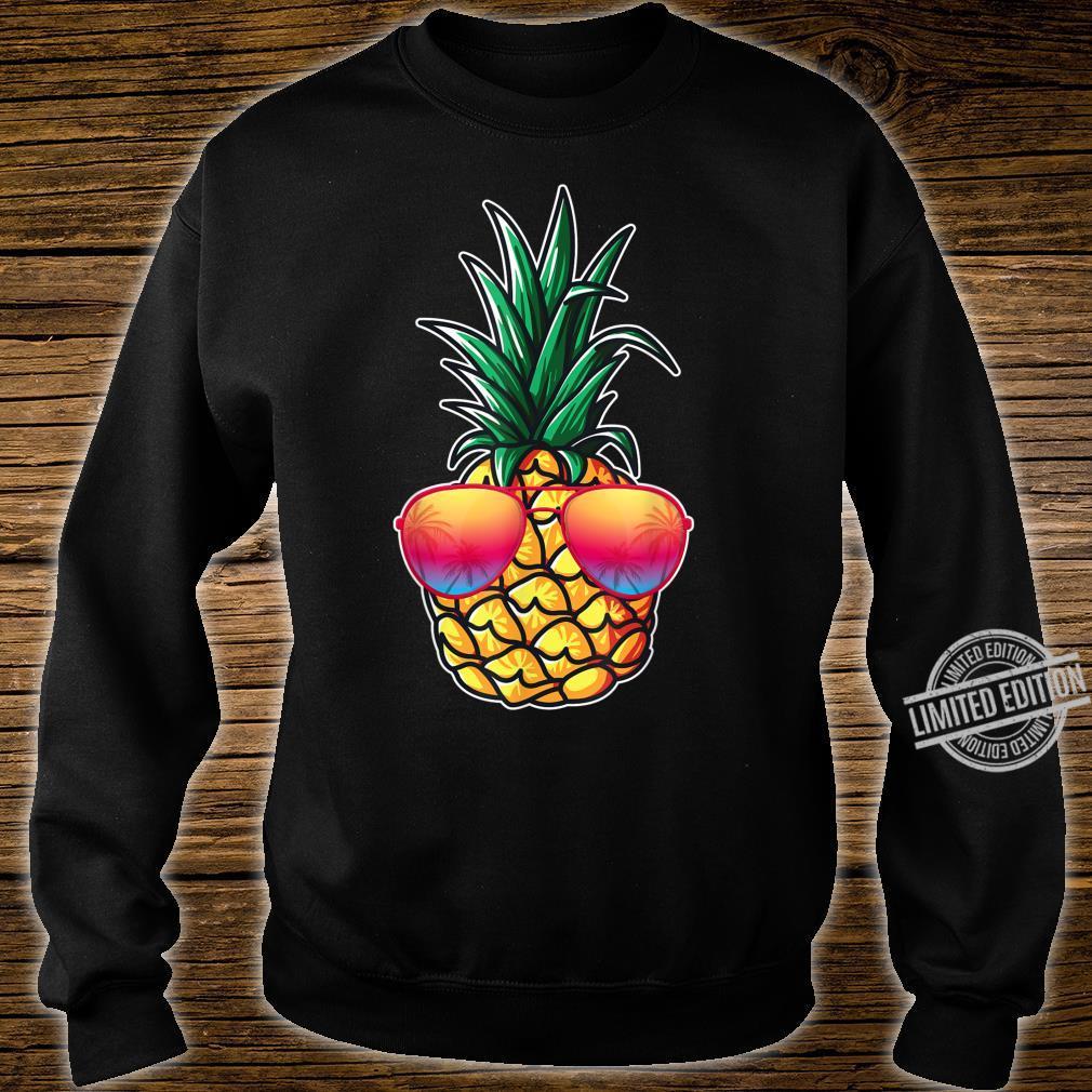 Mit Ananas Damen, Herren Aloha Beaches Kostüm Karneval Shirt sweater