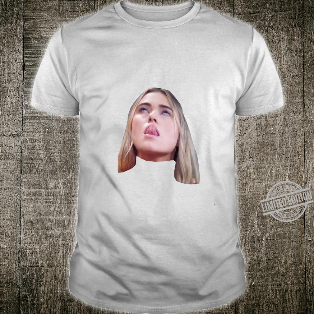 Mykenna Tongue Sticker Shirt