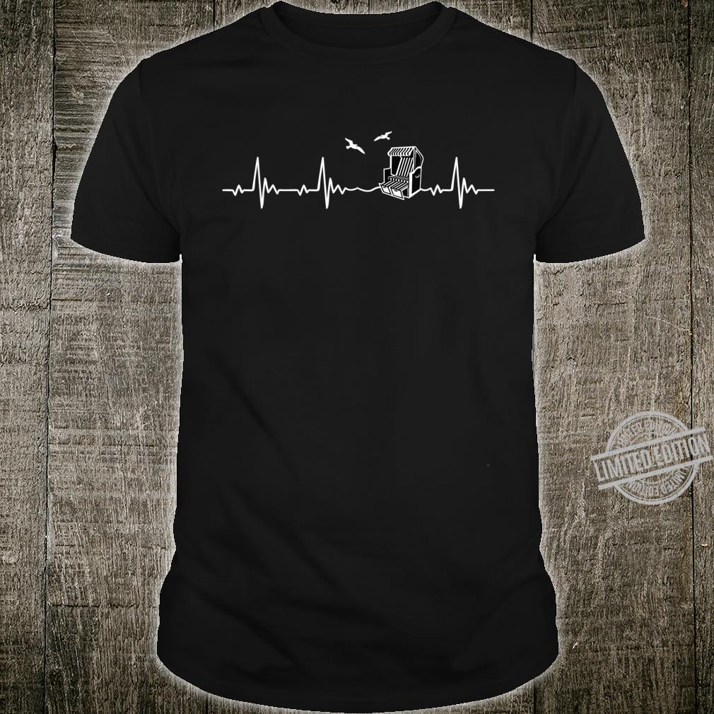 Ostsee Beach Chair Heartbeat Shirt