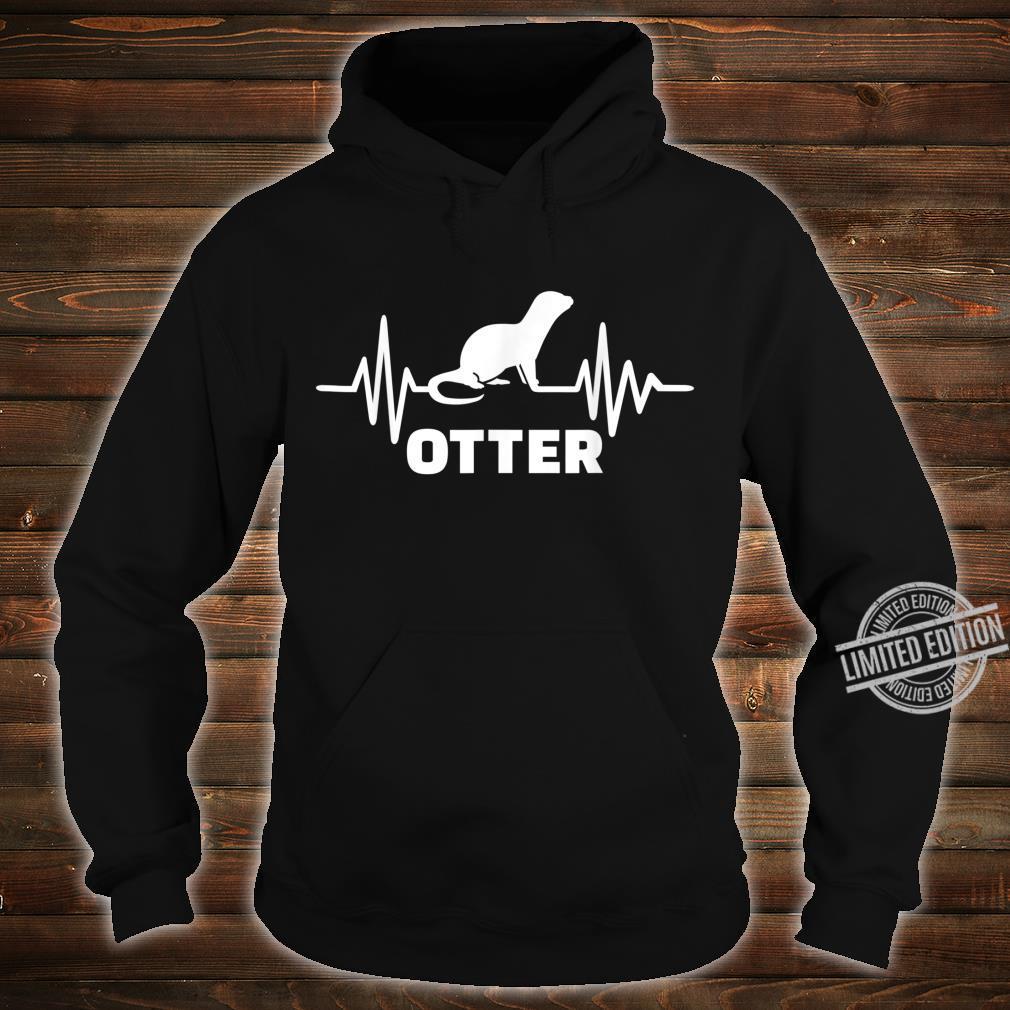 Otter Herzschlag Shirt hoodie