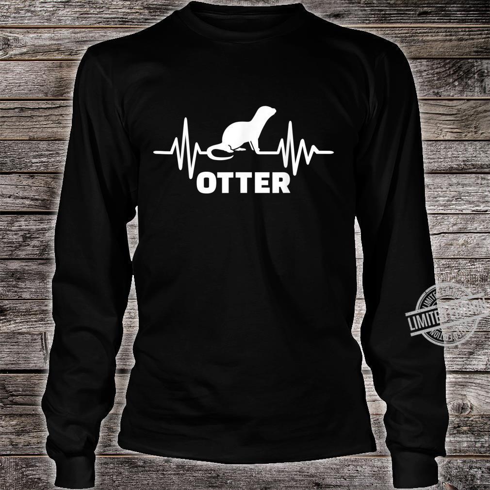 Otter Herzschlag Shirt long sleeved