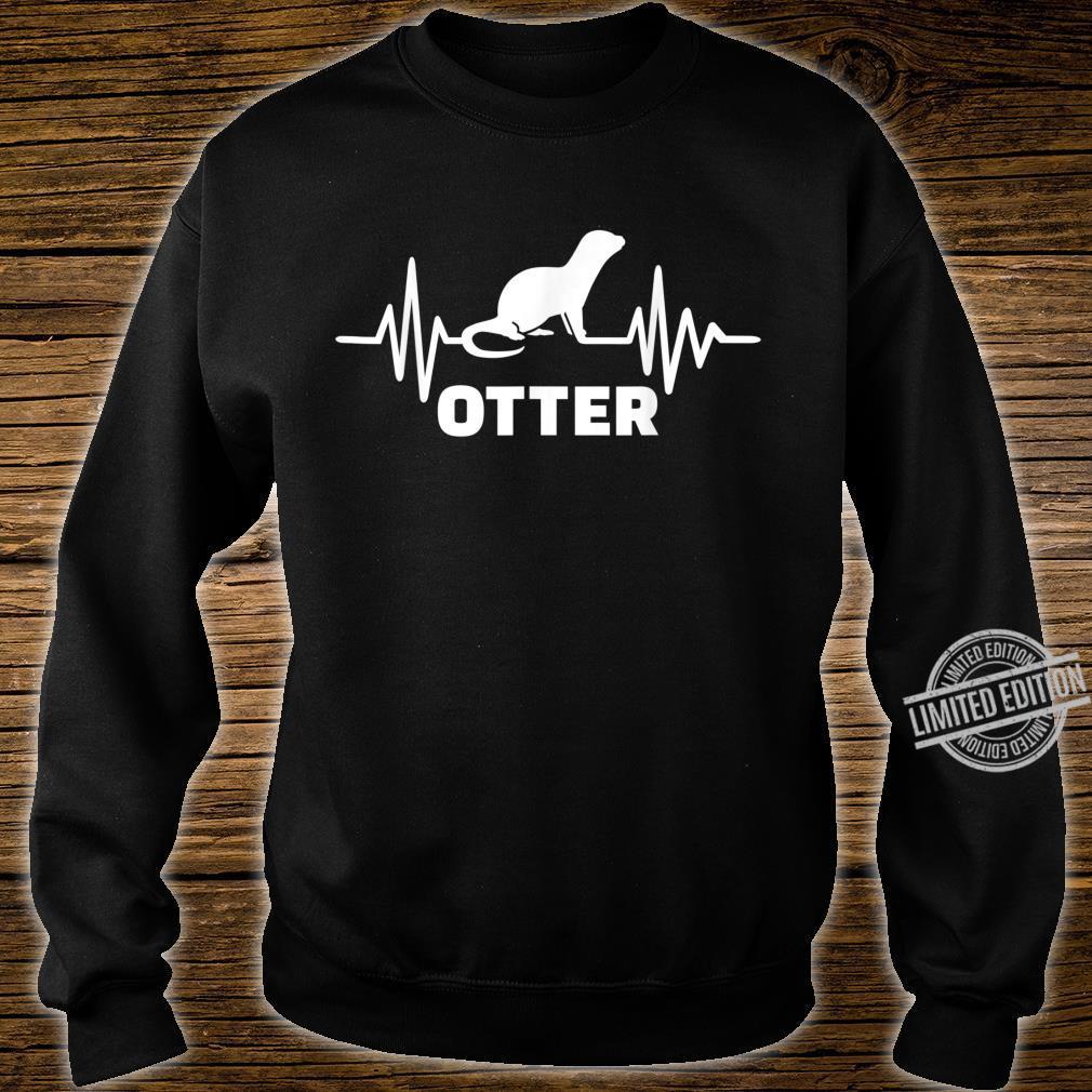 Otter Herzschlag Shirt sweater
