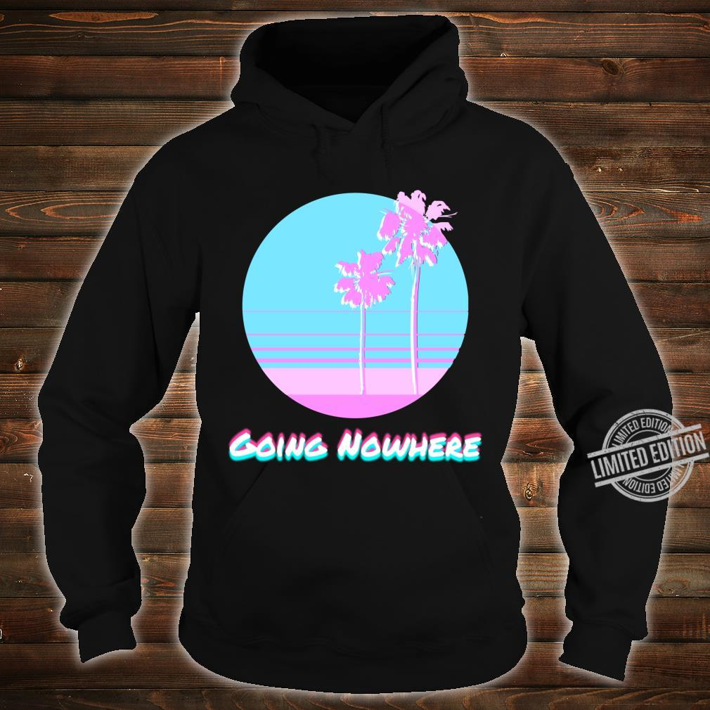 Pastel Glitchy Sunset Going Nowhere Vaporwave Sad Boy Shirt hoodie