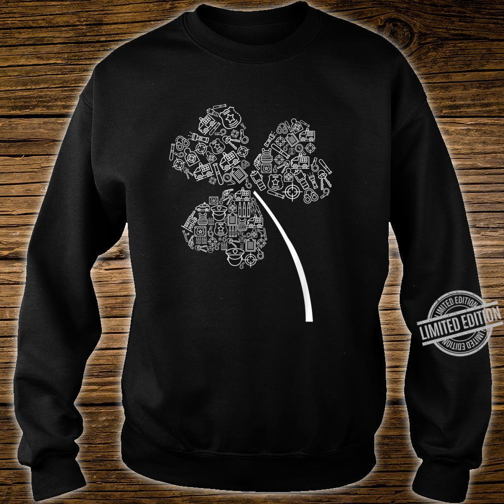 Police Officer St Patrick Clover Cops St Patricks Day Shirt sweater