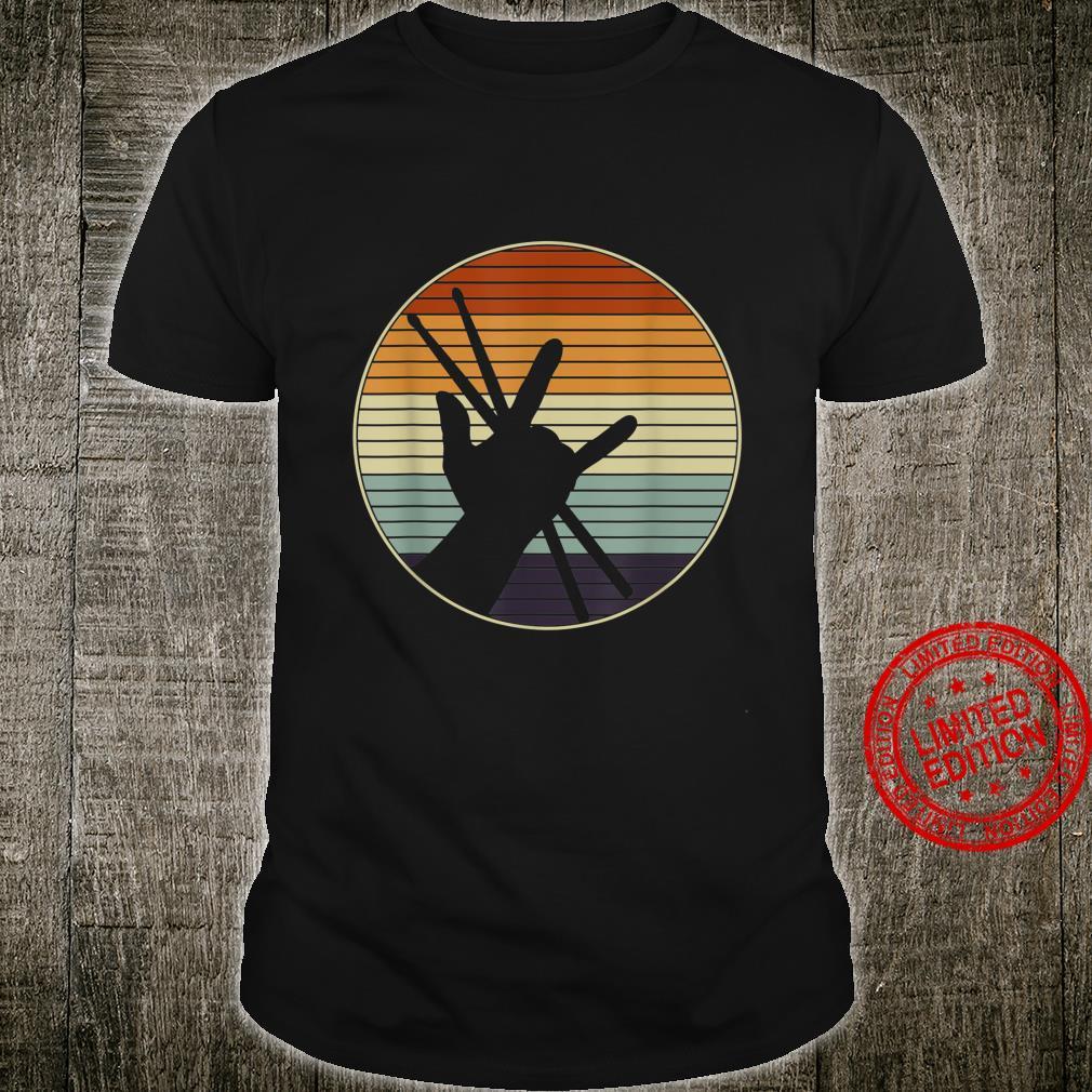 Retro Drumsticks Drums Shirt