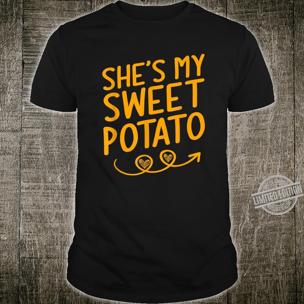 She's My Sweet Potato Shirt Thanksgiving Matching Couples Shirt