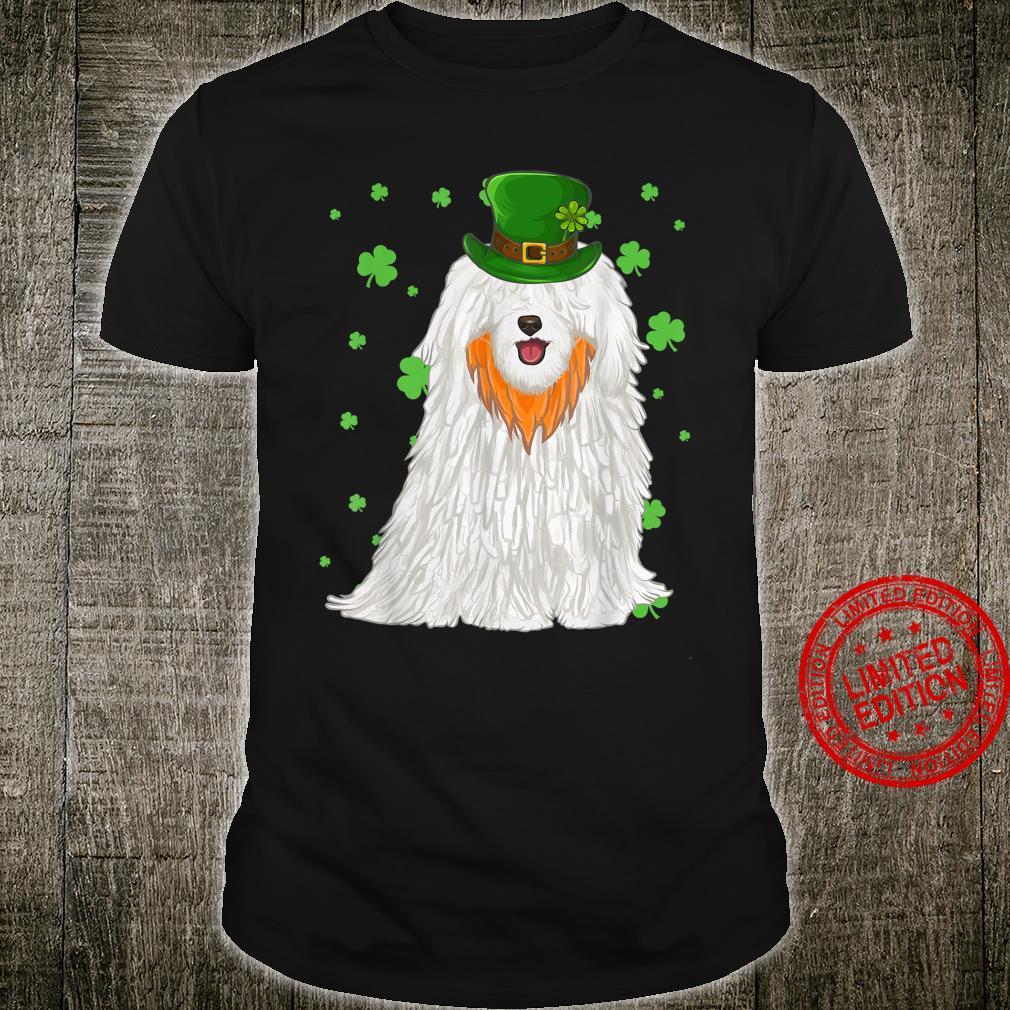 St Patricks Day Pulik Dog Shamrock Shirt