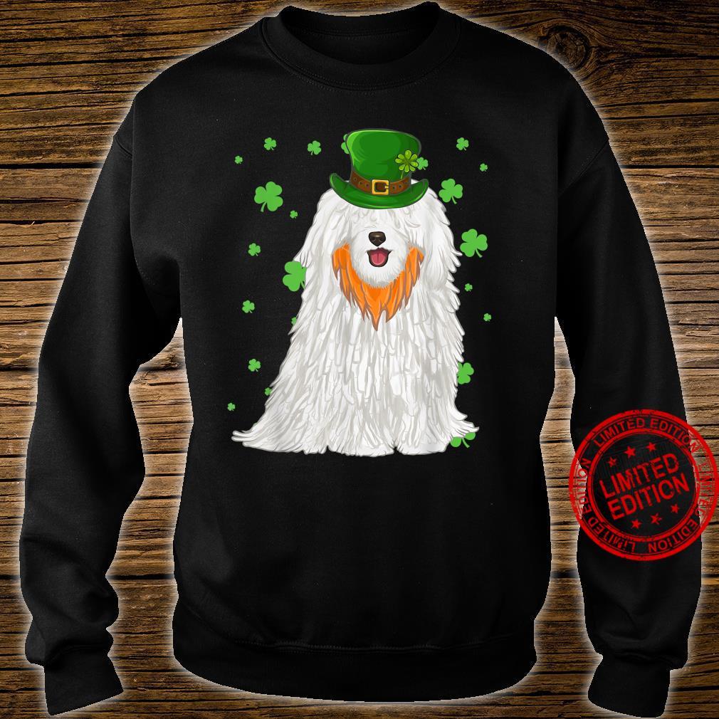 St Patricks Day Pulik Dog Shamrock Shirt sweater