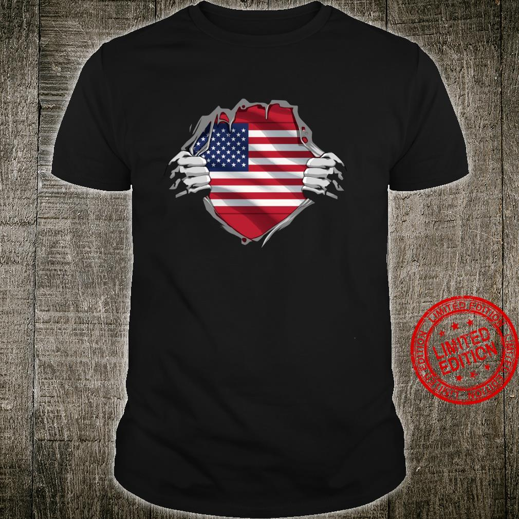 Super American Heritage Shirt United States Roots Flag Shirt