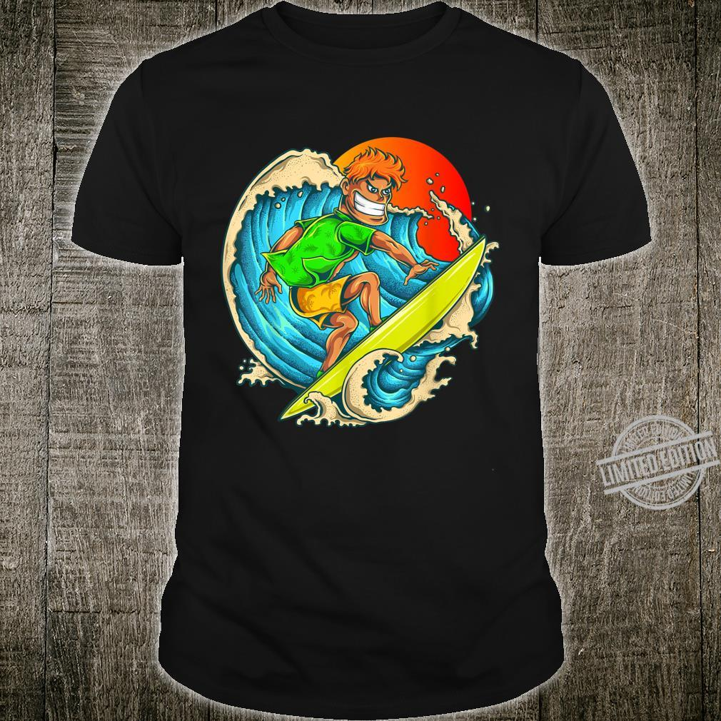 Surfer Dude Summertime Shirt