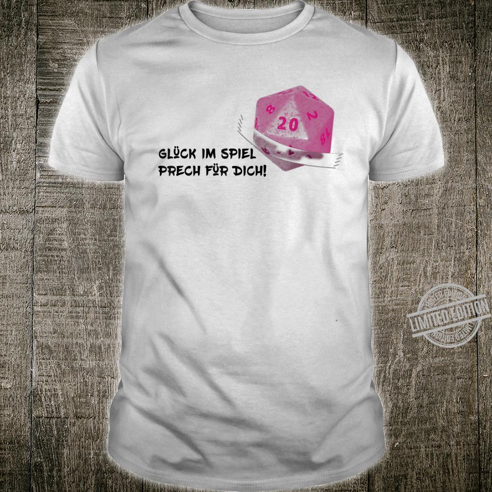 Tabetop RPG Larp W20 Nerd Shirt