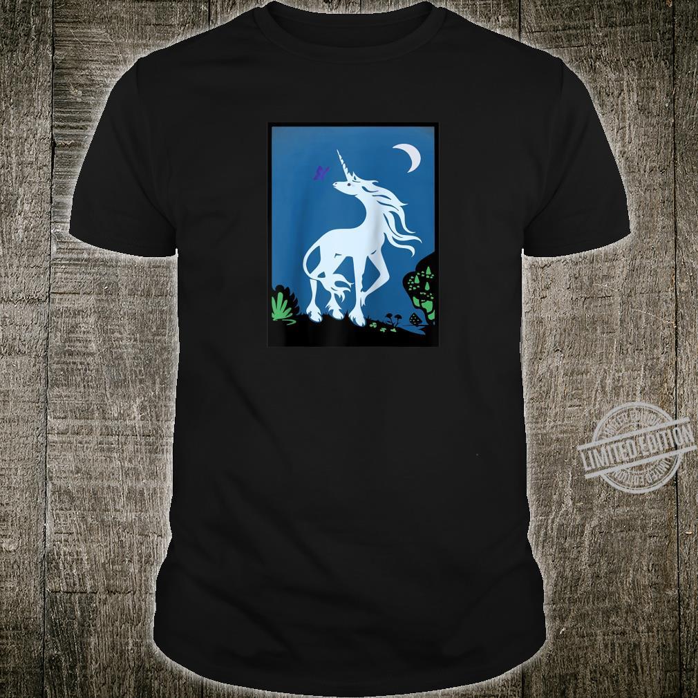 Tarot Card White Horse Unicorn Shirt
