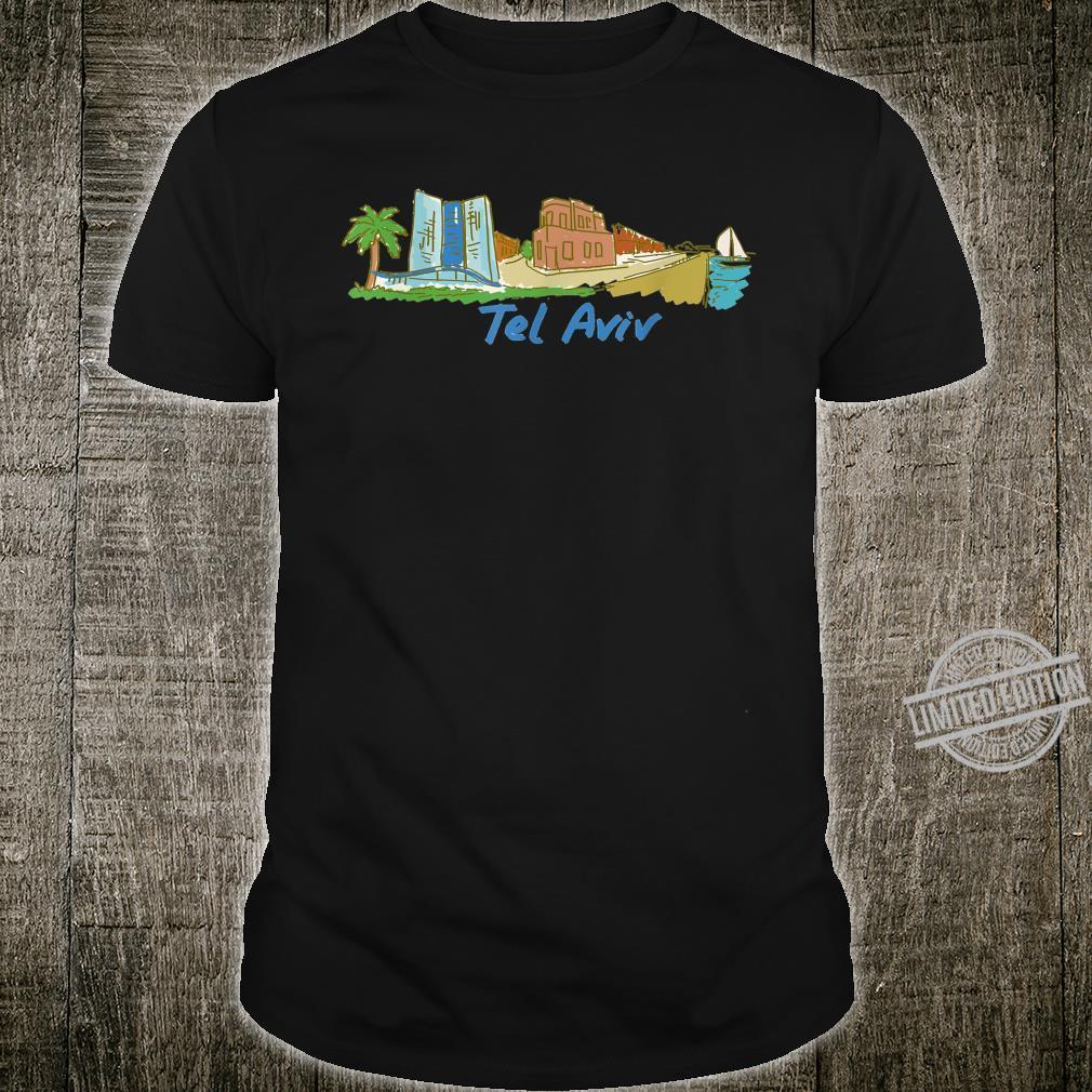 Tel Aviv Palm Sea Shirt