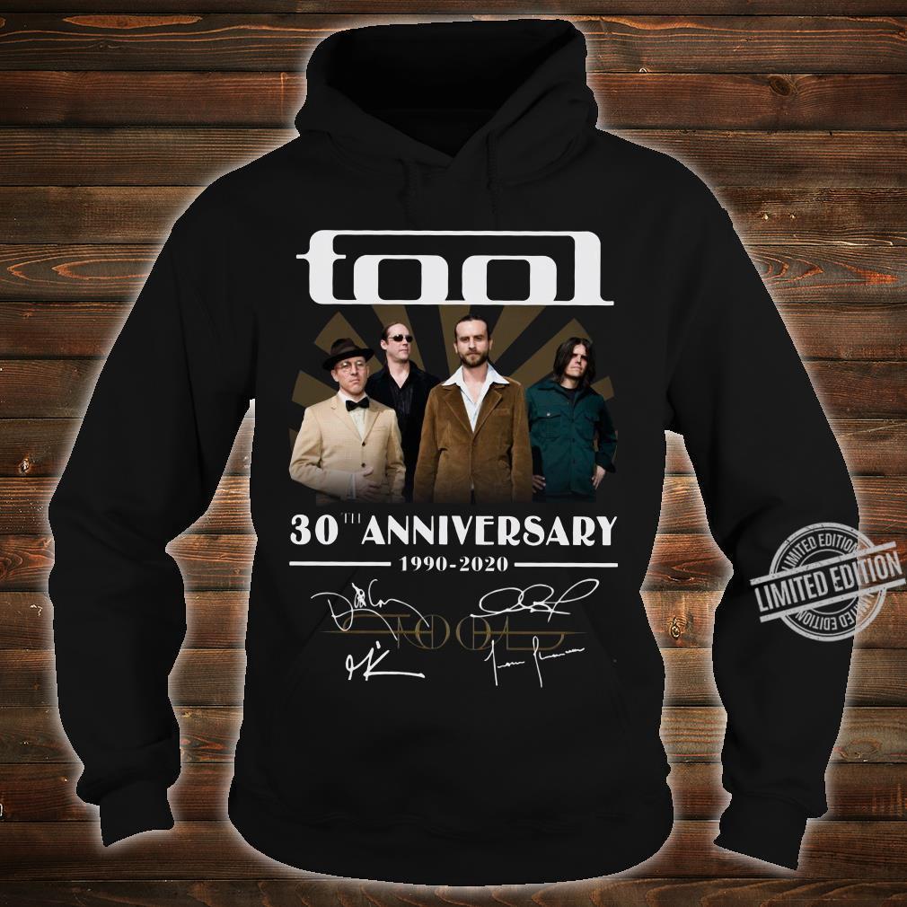 Tool 30th anniversary 1990-2020 signature shirt hoodie