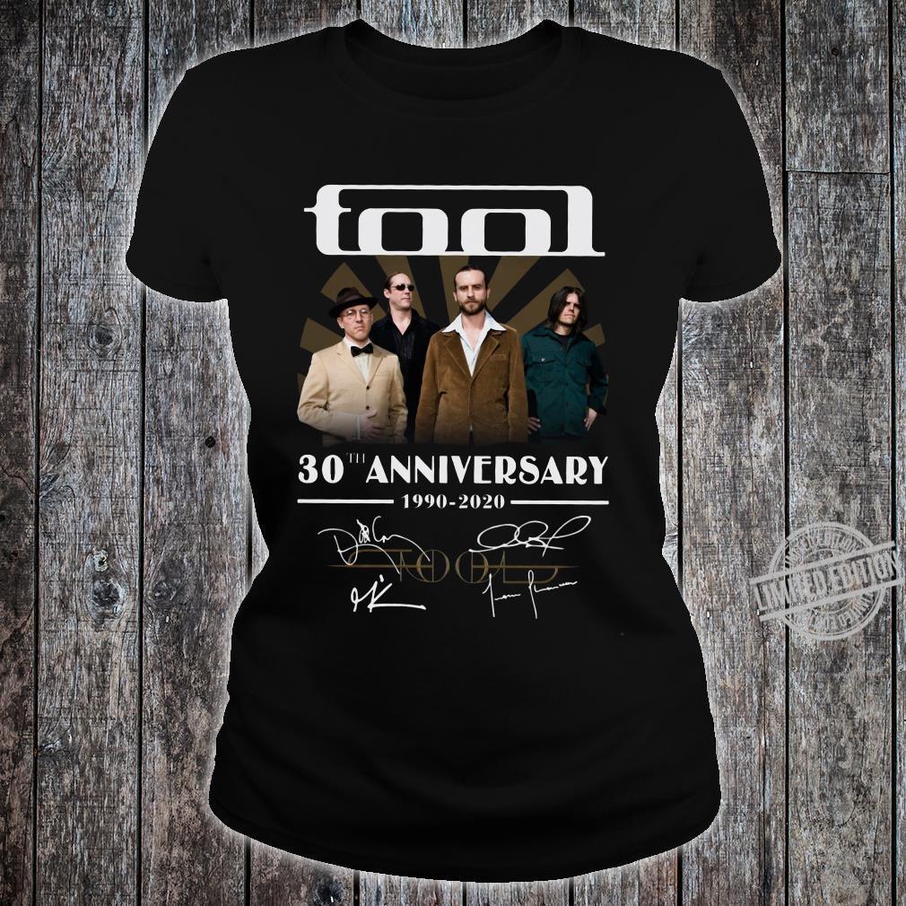 Tool 30th anniversary 1990-2020 signature shirt ladies tee