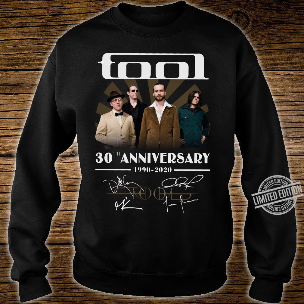 Tool 30th anniversary 1990-2020 signature shirt sweater