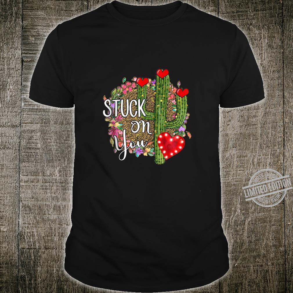 Valentine Cactus, Xoxo Cheetah Heart, Valentine Cactus Shirt