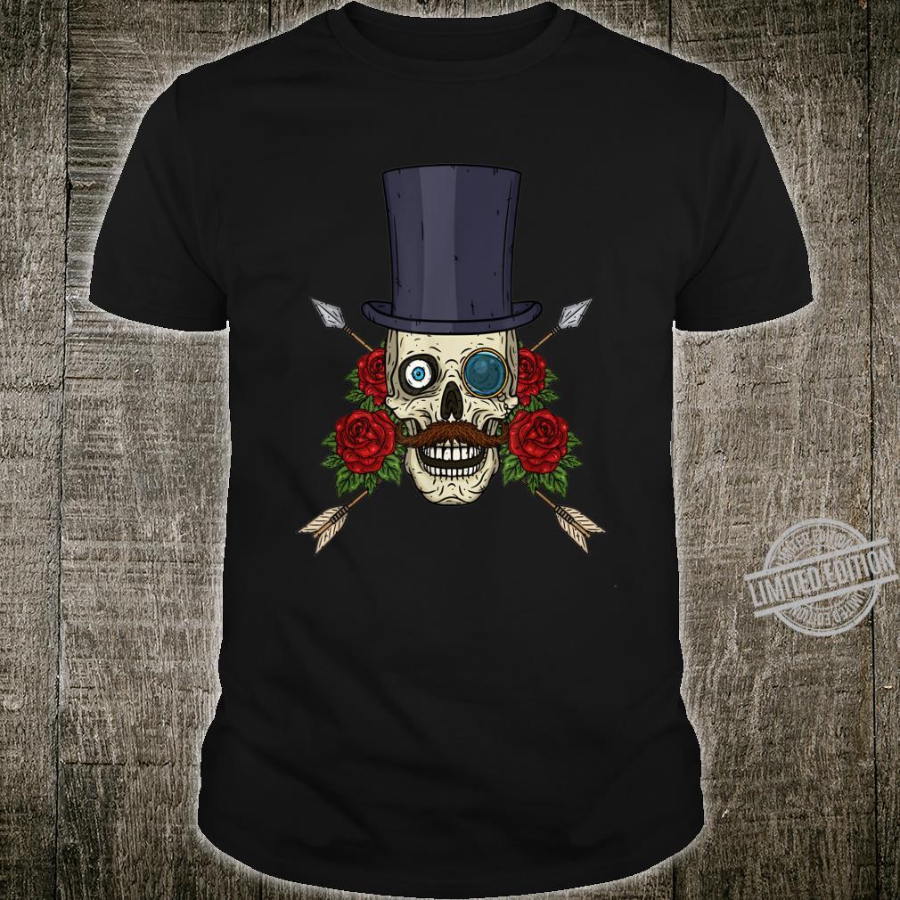 Valentine's Day Human Skull Skull Shirt